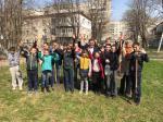 Депутат Габриел Михайлов посадил со школьниками более 200 деревьев