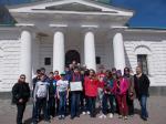 При поддержке Виталия Хомутынника школьники и ветераны посетили Полтавский музей космонавтики