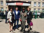 Габриел Михайлов открыл мемориальную доску воину Афганистана