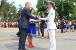 Сергей Чернов поздравил харьковских кадетов с окончанием учебы