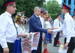 Сергей Чернов вручил дипломы выпускникам Национального университета гражданской защиты Украины