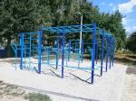 При поддержке «Відродження» в Харькове установили две спортплощадки