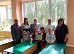 Реализован еще один проект «Вместе в будущее» - в Слобожанской школе установили новые окна