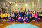 При  поддержке «Відродження» в школе №162 открыли новый спортивный зал