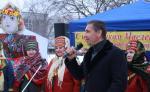 Владимир Скоробагач поздравил харьковчан с Масленицей