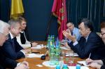 Сергей Чернов встретился с Послом Европейского Союза в Украине Хьюге Мингарелли