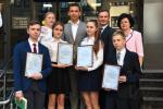 Владимир Скоробагач наградил победителей всеукраинских ученических олимпиад