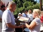 Сергей Чернов поздравил участников  Международного репинского пленэра