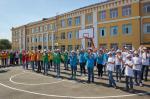 Геннадий Кернес открыл новый стадион в школе №134