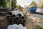 В Харькове меняют крупные тепловые магистрали