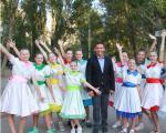 Владимир Скоробагач организовал праздник по случаю Дня мира