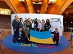 Призеры телефестиваля «Дитятко» посетили Всемирный форум демократии в Страсбурге