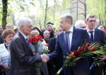 Депутаты «Відродження» почтили память ликвидаторов аварии на ЧАЭС