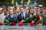 Депутаты «Відродження» возложили цветы к Мемориалу Славы