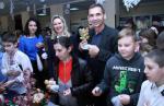 Владимир Скоробагач поздравил с Днем святого Николая учащихся люботинской школы