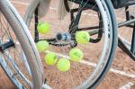 В Харькове проходит международный турнир среди теннисистов-колясочников